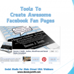 Tools To Create Beautiful Facebook Fan Pages - Webinar