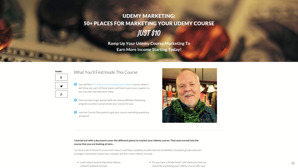LeadPages Udemy Course Landing Page