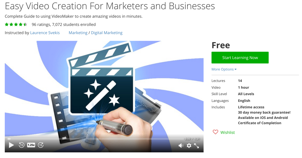 Free Udemy Digital Marketing Courses | Promote Your Business or ...