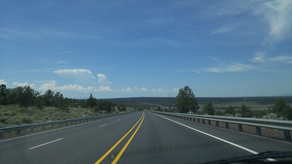 Traveling Just Outside Bend Oregon